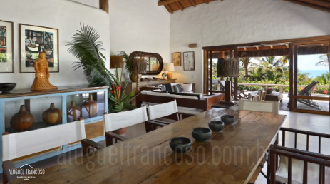 luxury villa rental brazil