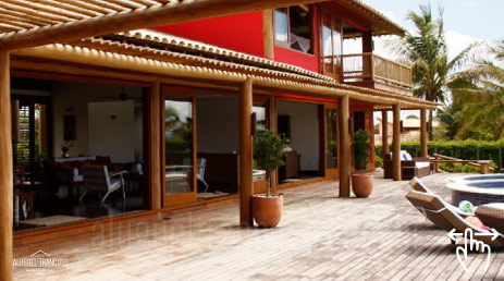 luxury villas brazil rent