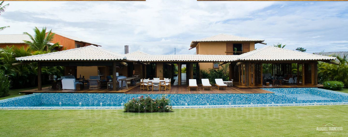 luxury villa rental trancoso map